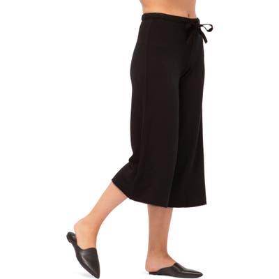 Stateside Crop Sweatpants, Black