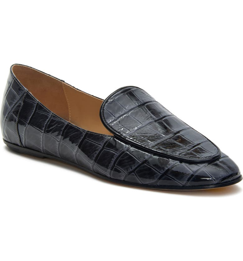 ETIENNE AIGNER Camille Loafer, Main, color, ASHES LEATHER