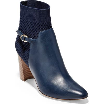 Cole Haan Camille Water Resistant Bootie B - Blue