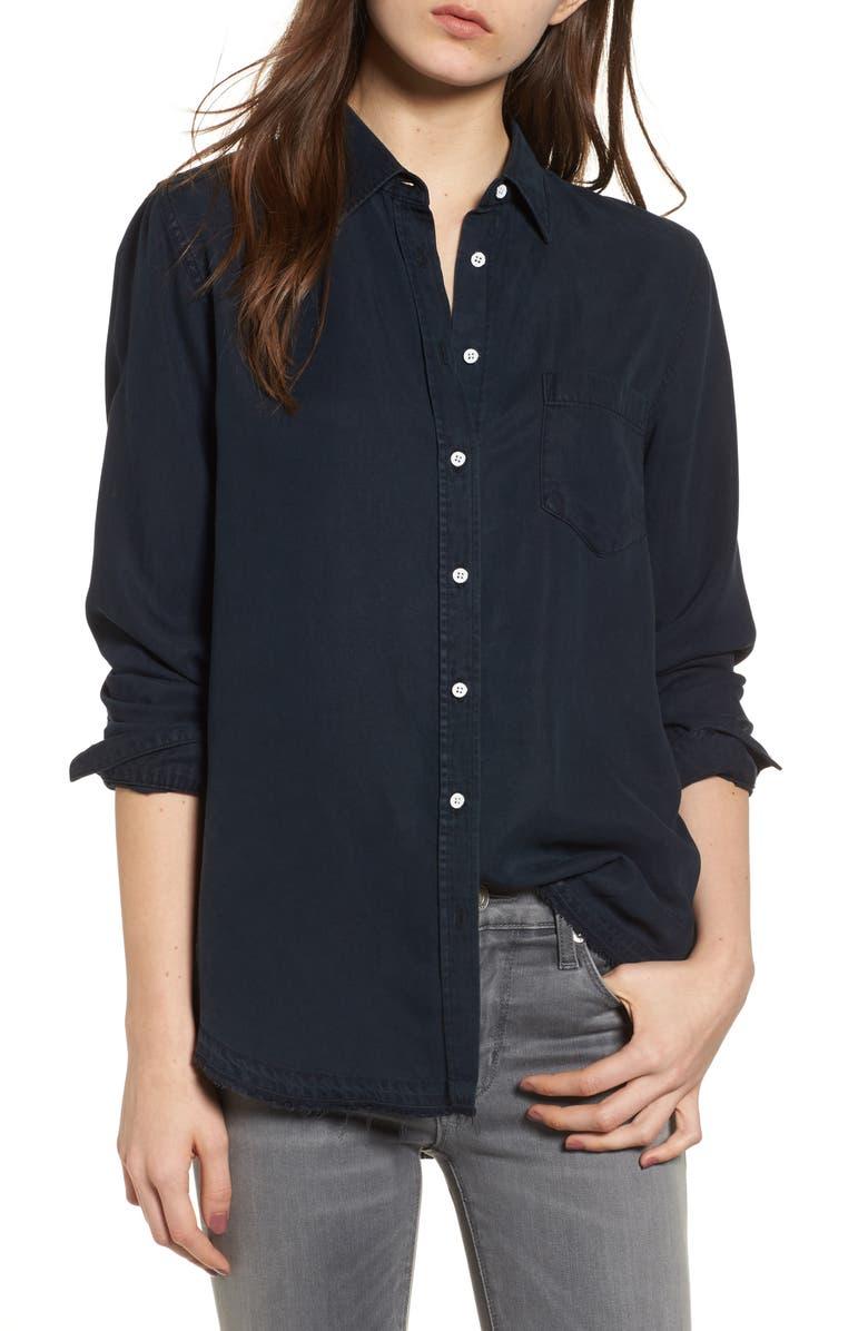 DL1961 Mercer & Spring Shirt, Main, color, 001