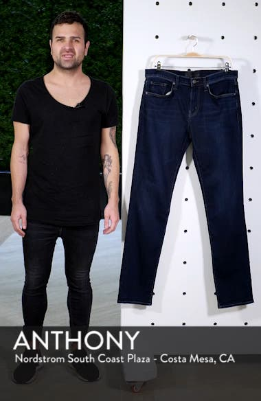 Kane Slim Straight Leg Jeans, sales video thumbnail