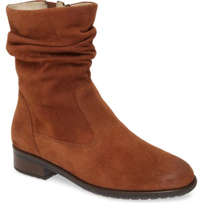Ara Lexi Slouch Boot- Brown