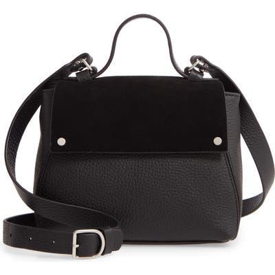Treasure & Bond Mini Skyler Leather Satchel - Black