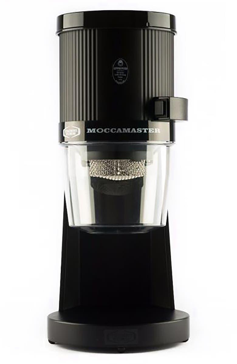 MOCCAMASTER Coffee Grinder, Main, color, MATTE BLACK