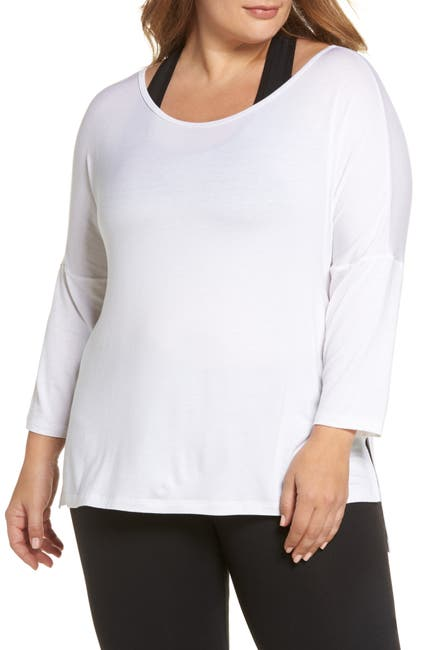 Image of Beyond Yoga Slink It Boxy Pullover