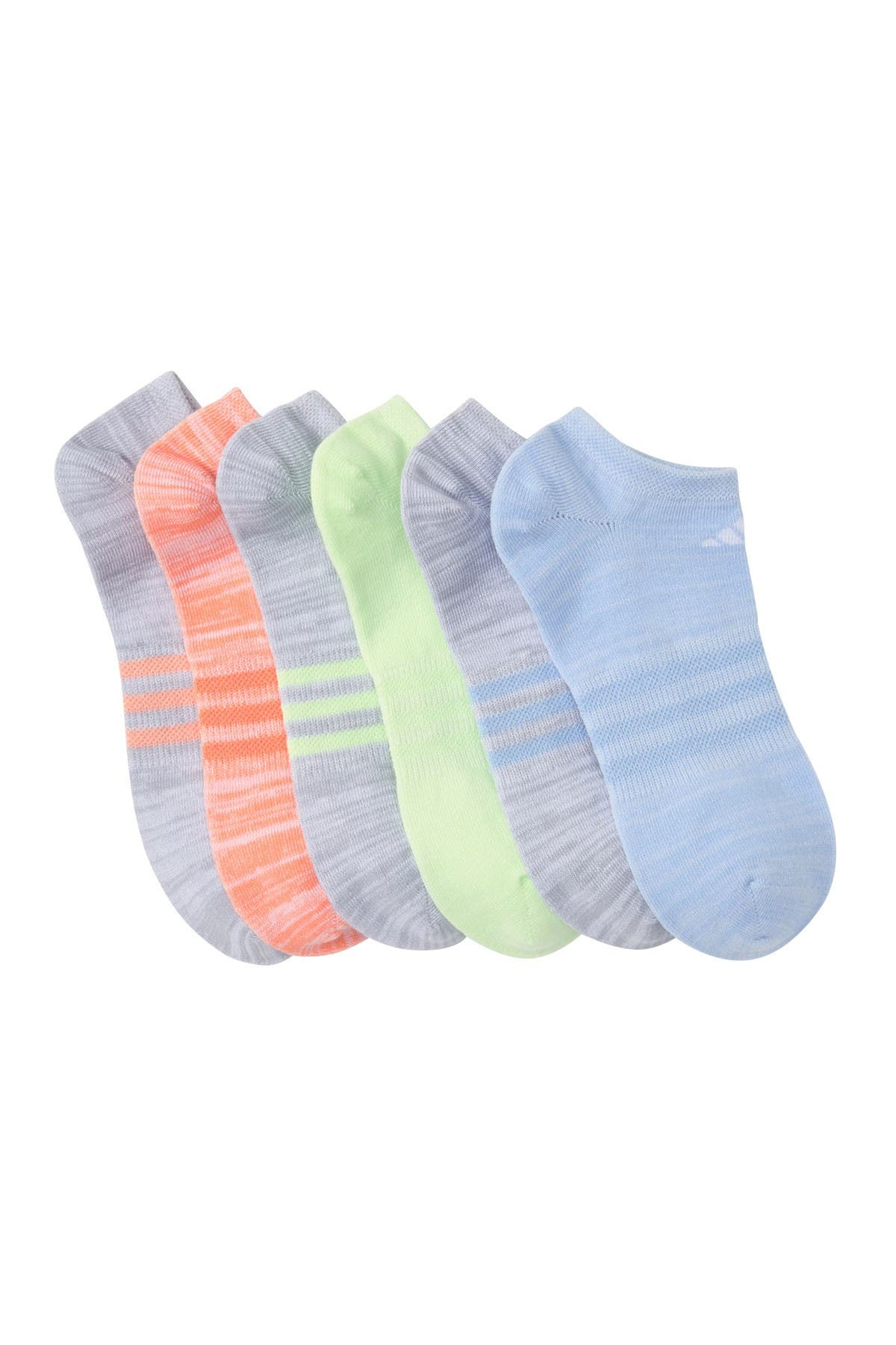 Image of adidas Superlite No-Show Socks - Pack of 6