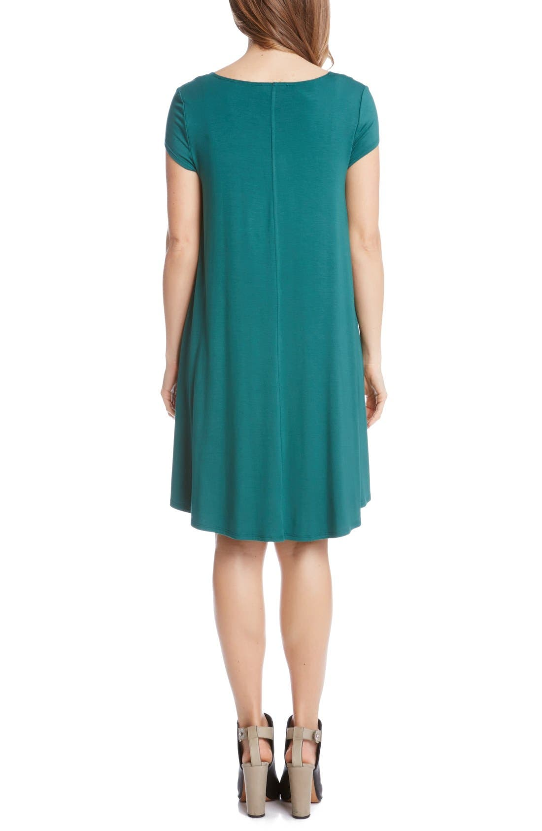 ,                             'Maggie' Cap Sleeve Trapeze Dress,                             Alternate thumbnail 14, color,                             311
