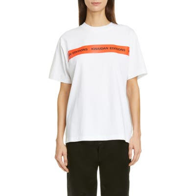 Kwaidan Editions Logo T-Shirt, White