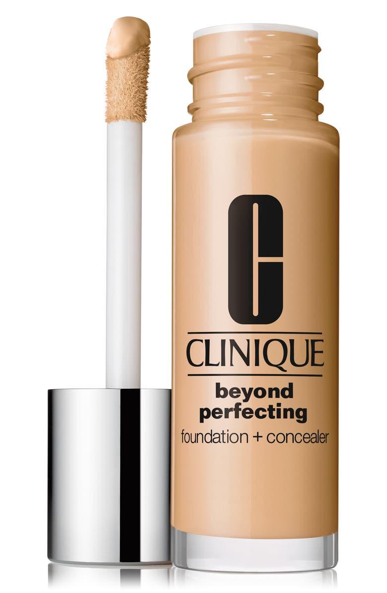 CLINIQUE Beyond Perfecting Foundation + Concealer, Main, color, LINEN
