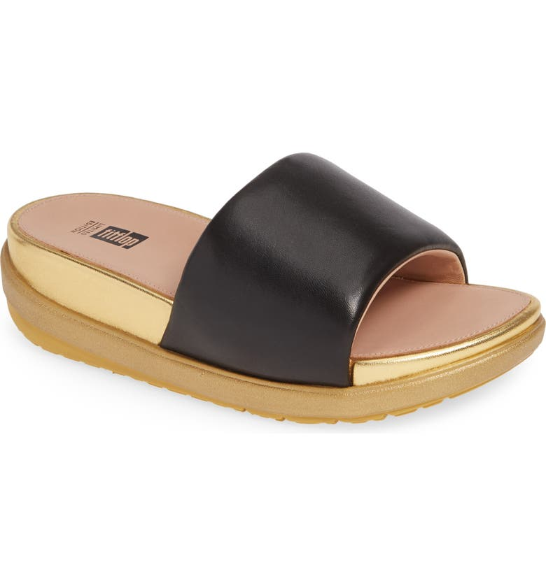 FITFLOP Loosh Luxe Slide Sandal, Main, color, 007