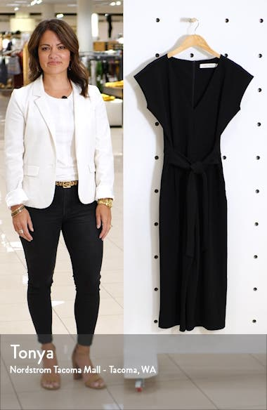Tie Front Crop Jumpsuit, sales video thumbnail