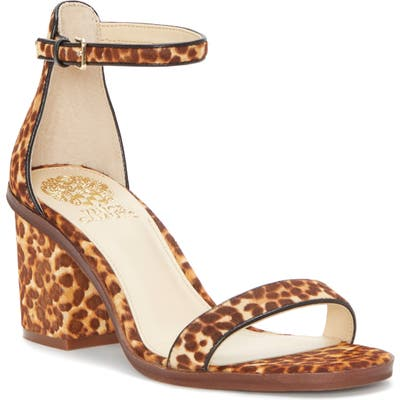 Vince Camuto Ankle Strap Sandal, Brown