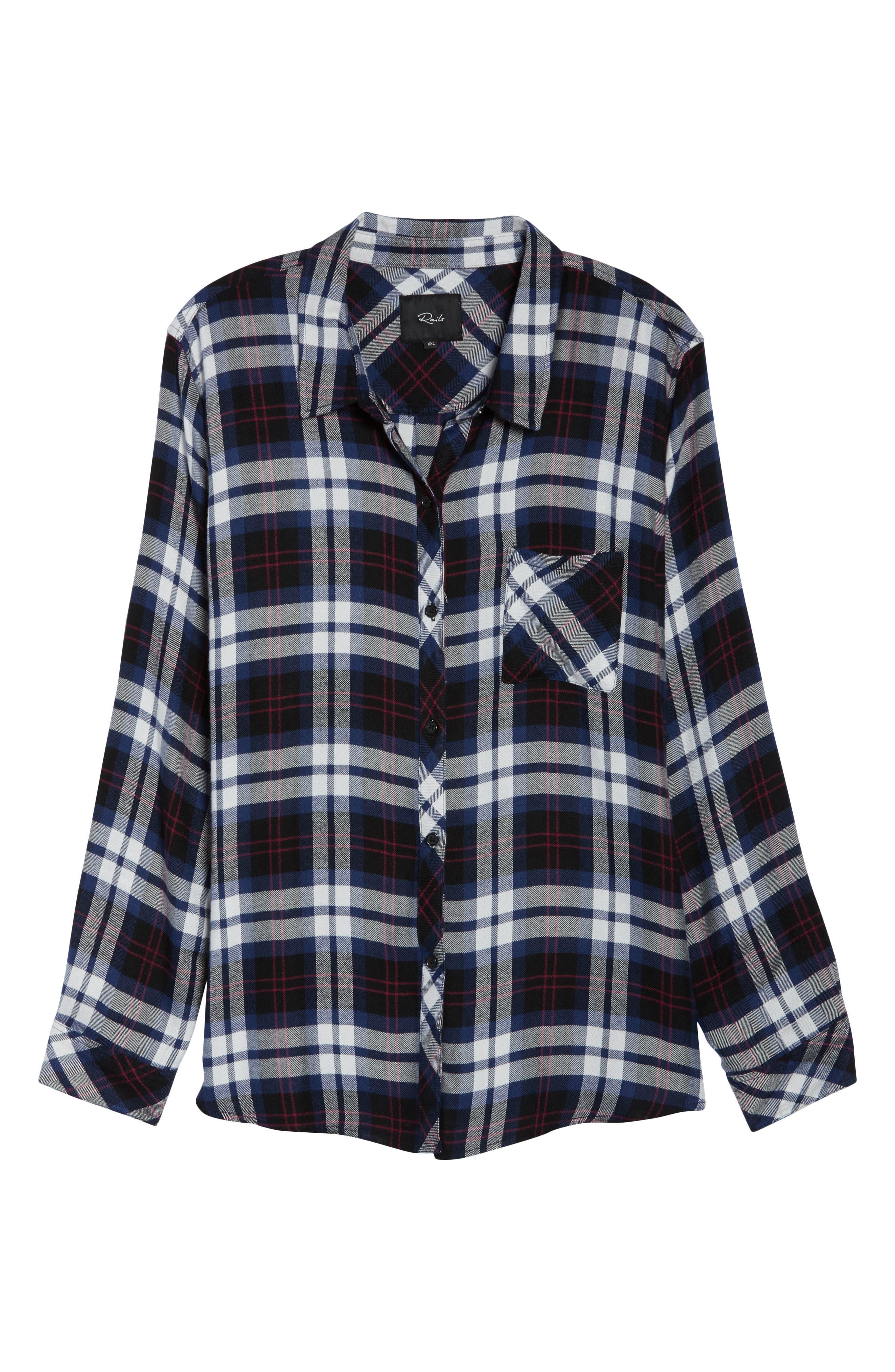 ,                             Hunter Plaid Shirt,                             Alternate thumbnail 329, color,                             409