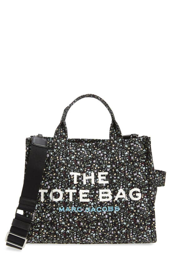 The Marc Jacobs Canvases SMALL TRAVELER DITSY FLORAL CANVAS TOTE