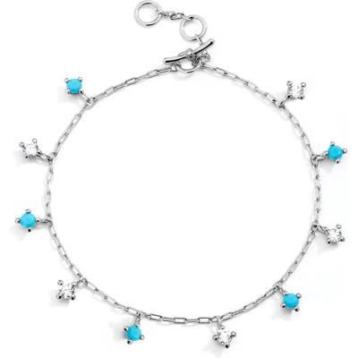 Nadri Issa Shaky Charm Bracelet