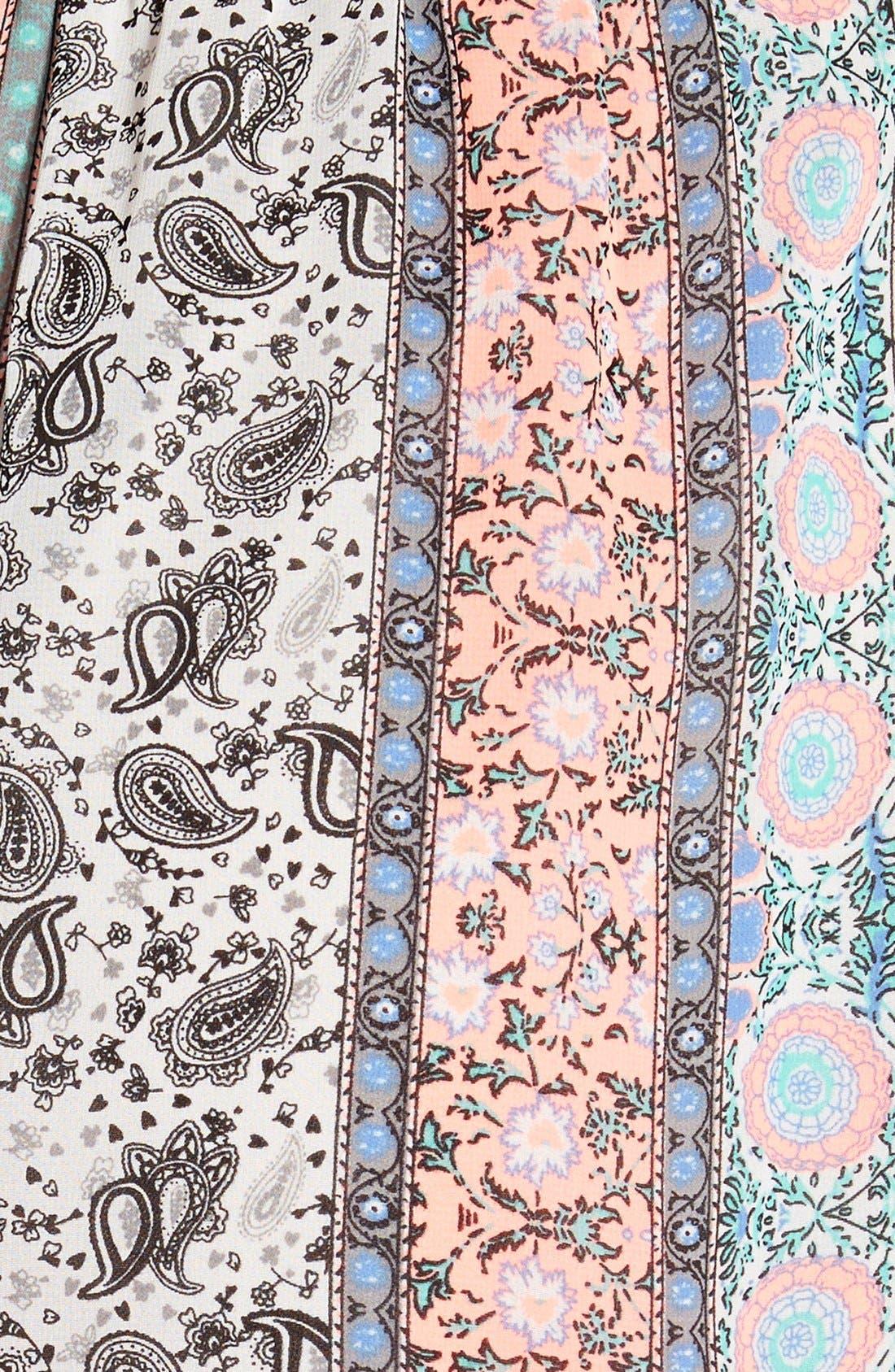 ,                             Lace Trim Floral Print Shorts,                             Alternate thumbnail 39, color,                             950