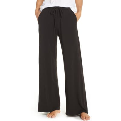 Groceries Apparel Winslet Wide Leg Pajama Pants, Black