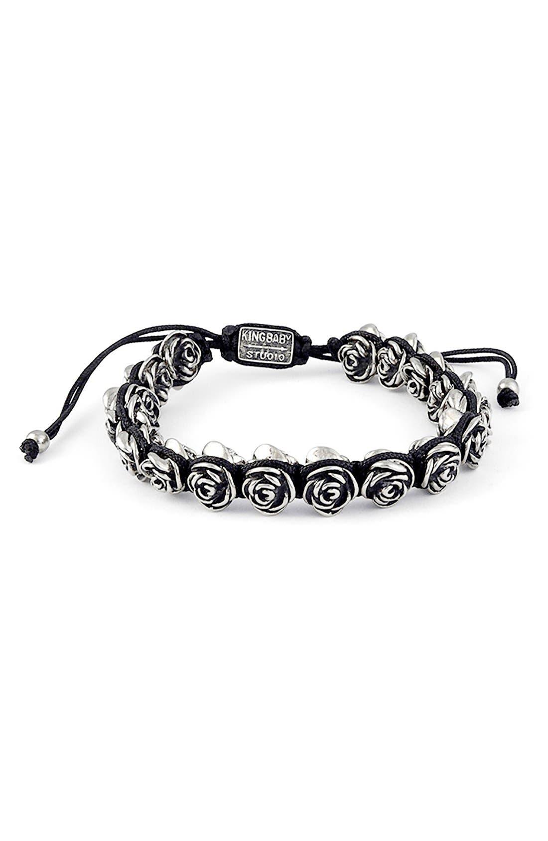 Rose Bead Bracelet