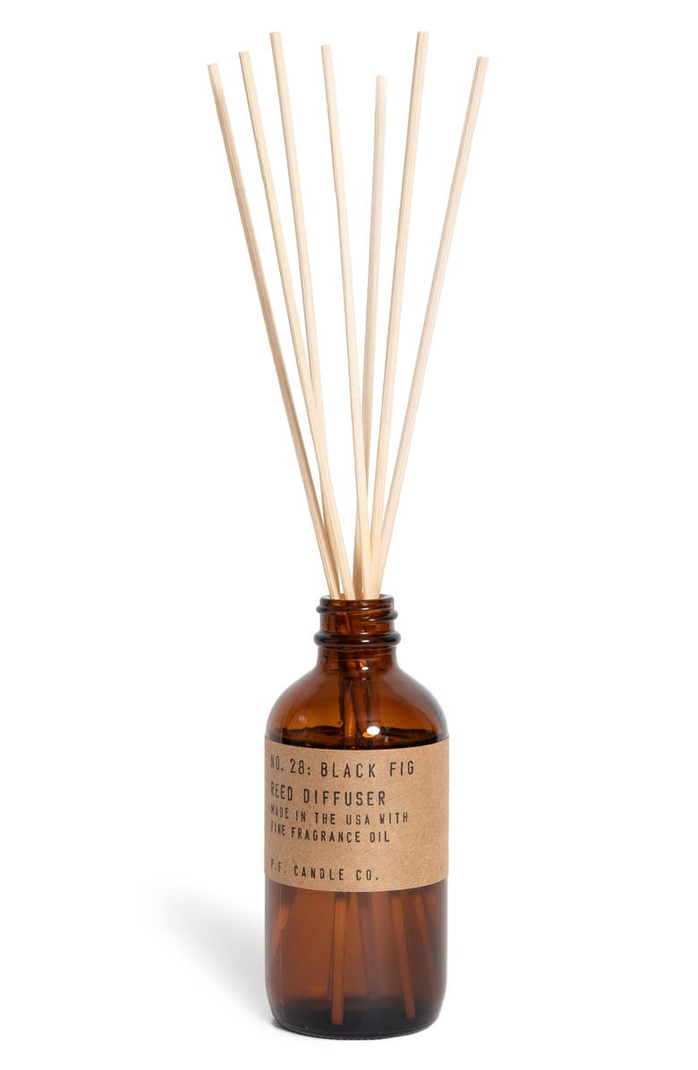 P.F. CANDLE CO. Reed Diffuser, Main, color, BLACK FIG