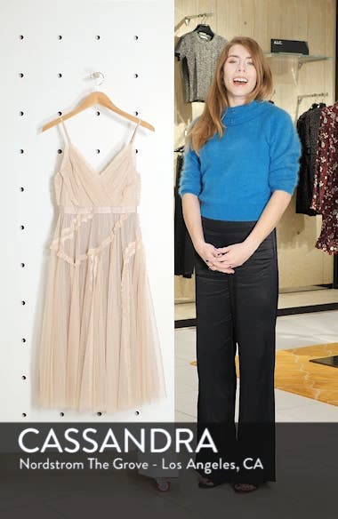 Ballet Lace Midi Dress, sales video thumbnail
