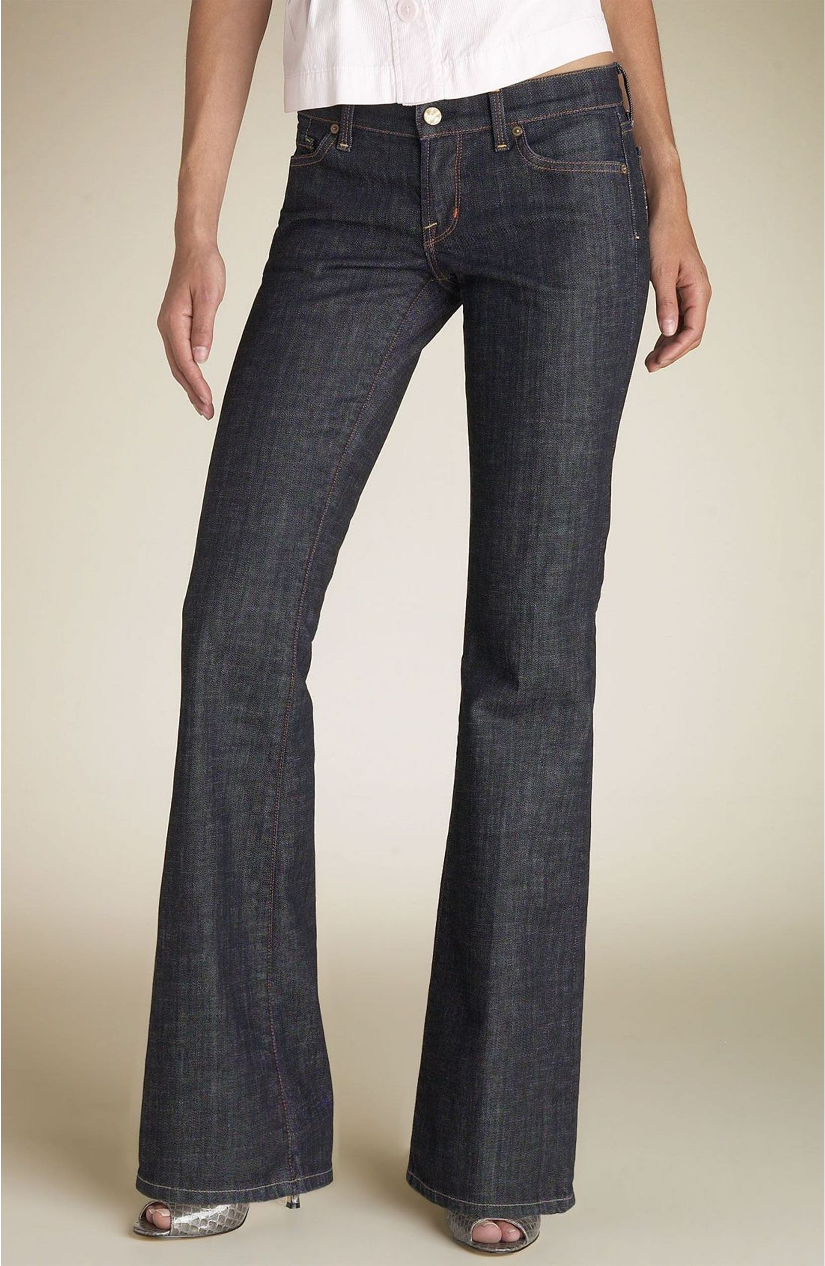 17a23a99ed Citizens of Humanity 'Ric Rac' Stretch Flare Jeans (Dark Paris) | Nordstrom
