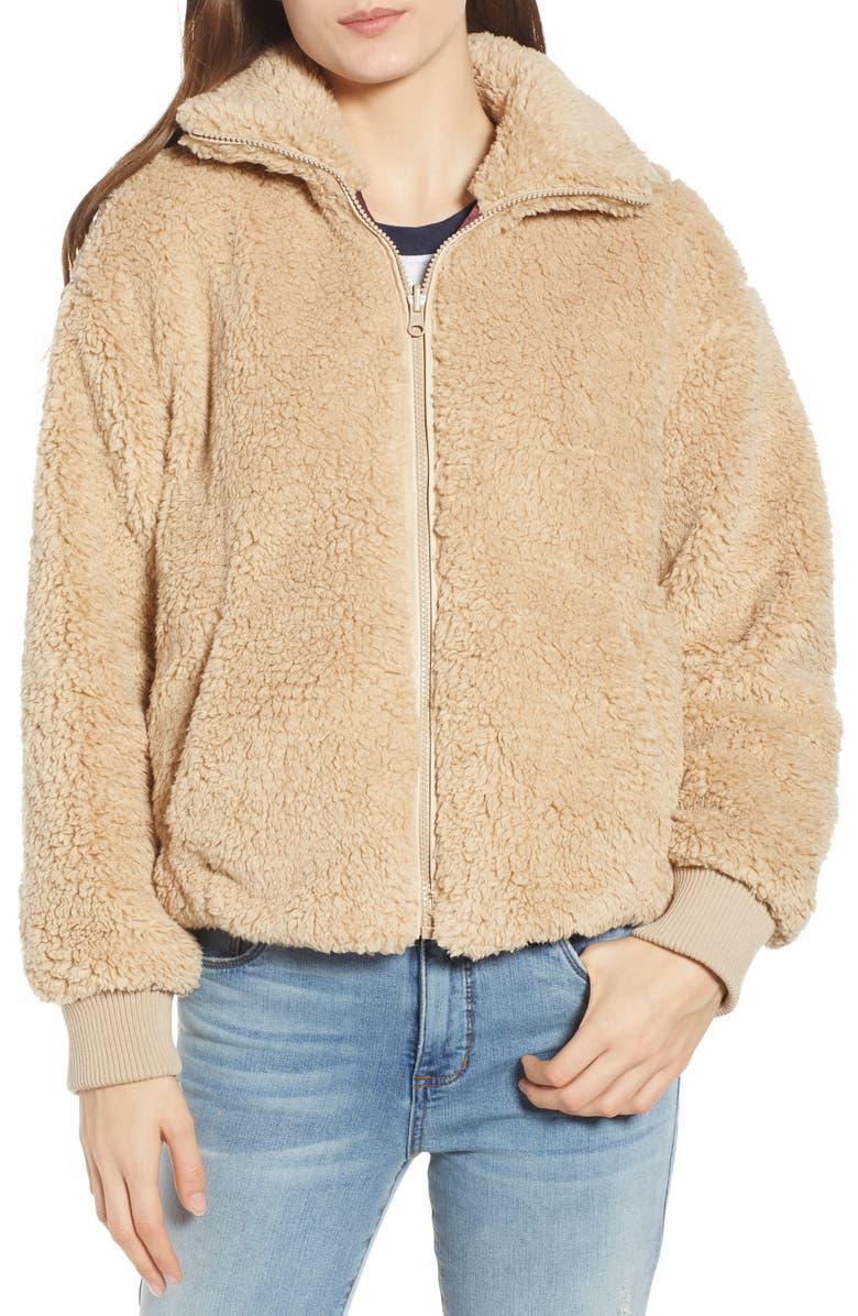 BP. Reversible Teddy Jacket, Main, color, 210