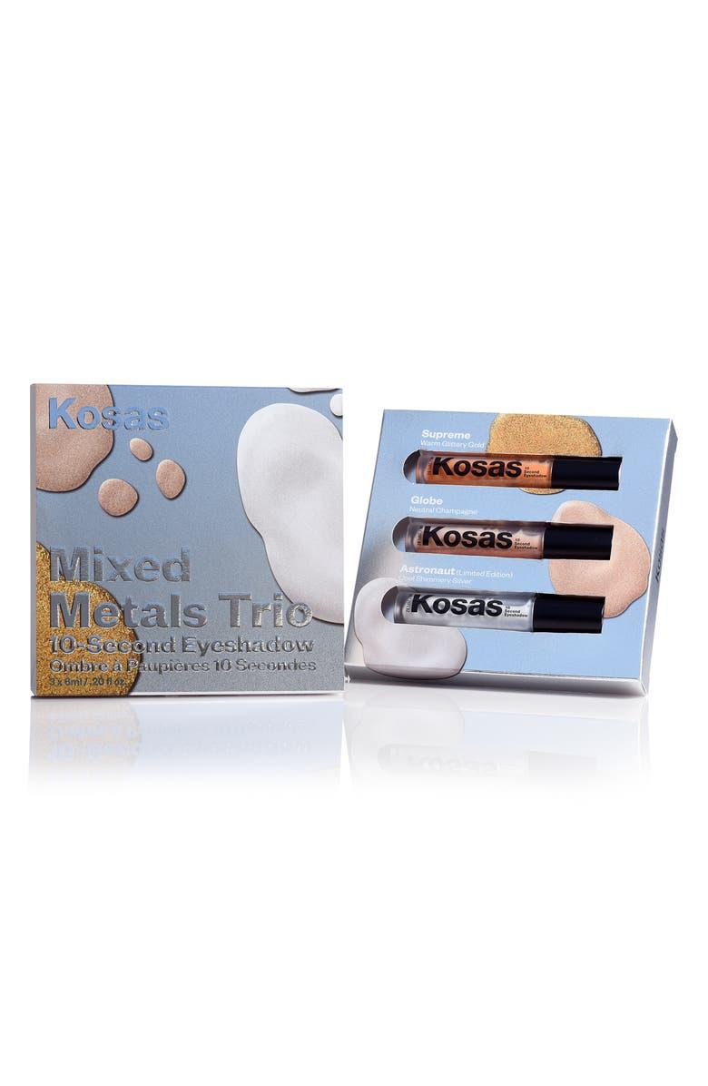 KOSAS Mixed Metals Trio 10-Second Eyeshadow Set, Main, color, NO COLOR