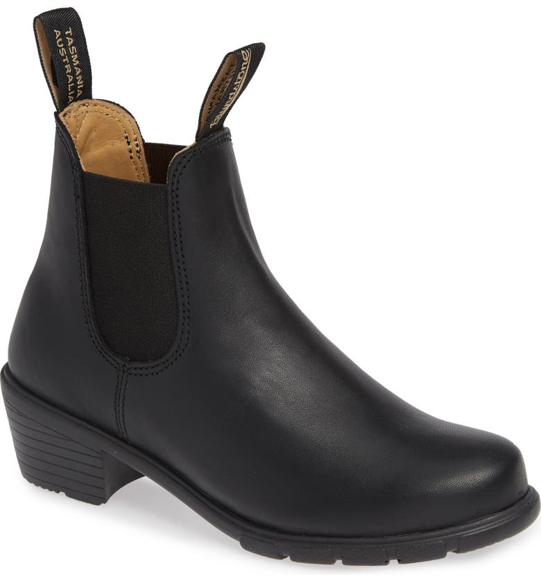 BLUNDSTONE FOOTWEAR Blundstone 1671 Chelsea Boot, Main, color, BLACK LEATHER