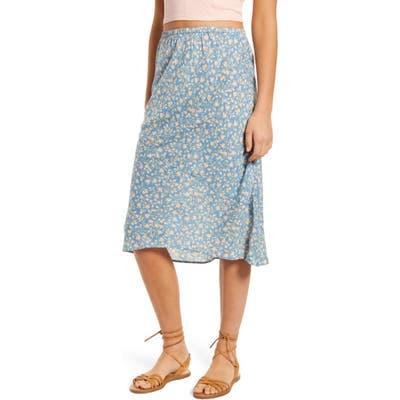 Billabong By The Water Midi Skirt, Blue