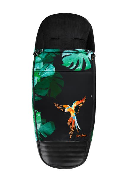 Image of Cybex Birds of Paradise Collection Platinum Footmuff