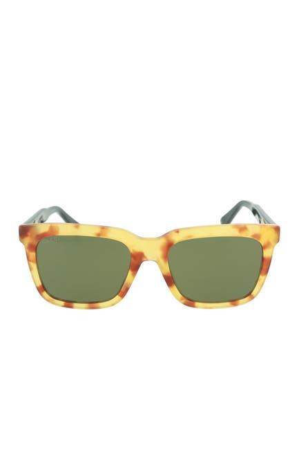 Image of GUCCI 53mm Square Core Sunglasses