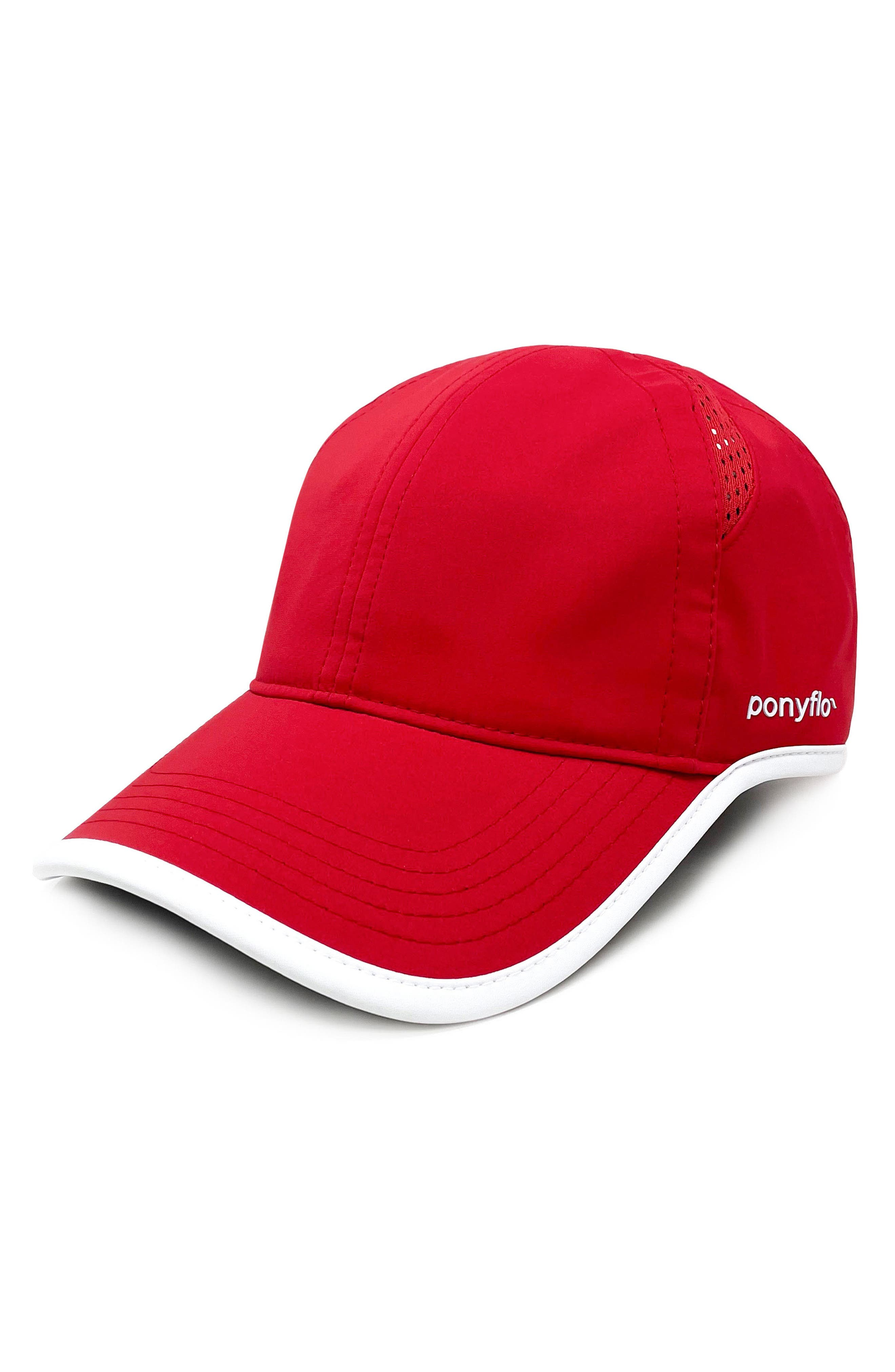 Zena Water Resistant Ponyflo Cap