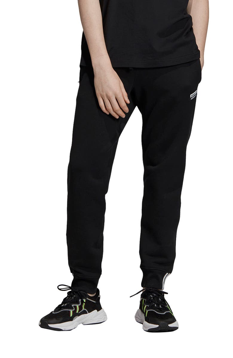 ADIDAS ORIGINALS Vocal Sweatpants, Main, color, BLACK