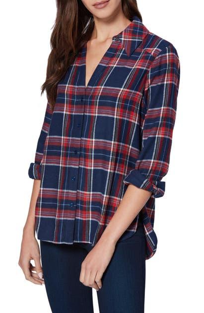 Paige T-shirts DAVLYN PLAID SHIRT