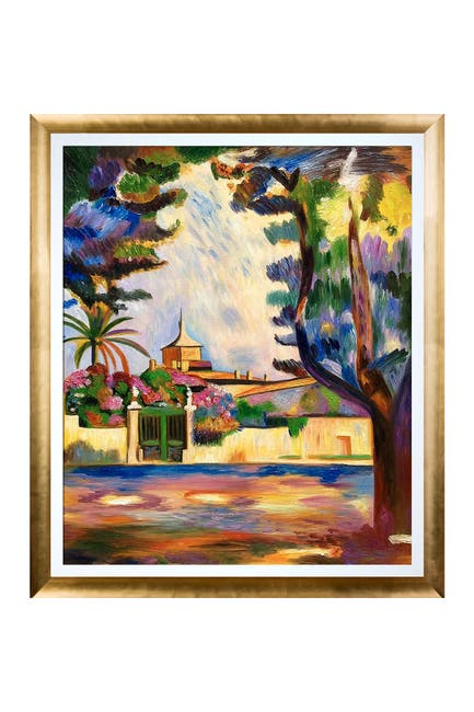 Image of Overstock Art Place des Lices Framed Oil Painting by Henri Matisse