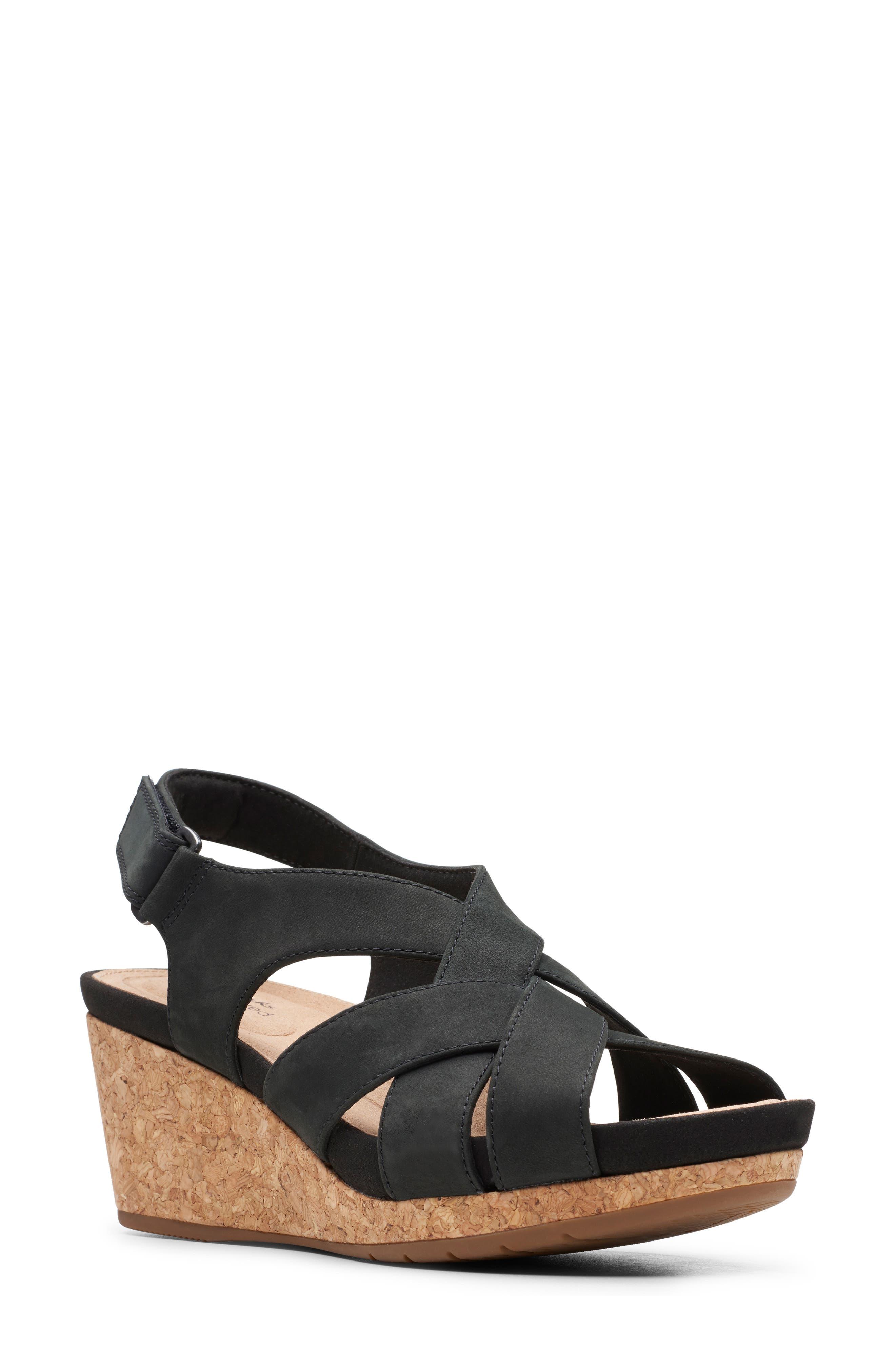 Women's Clarks Un Capri Step Platform Wedge Sandal