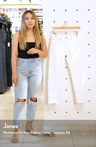Kelley Tapered Crop Jeans, sales video thumbnail