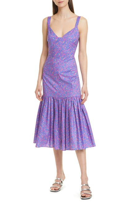 Image of Tanya Taylor Calle Midi Dress