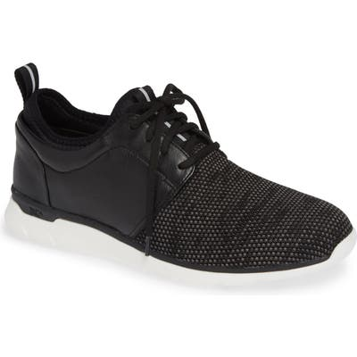 Johnston & Murphy Prentiss Xc4 Waterproof Low Top Sneaker, Black