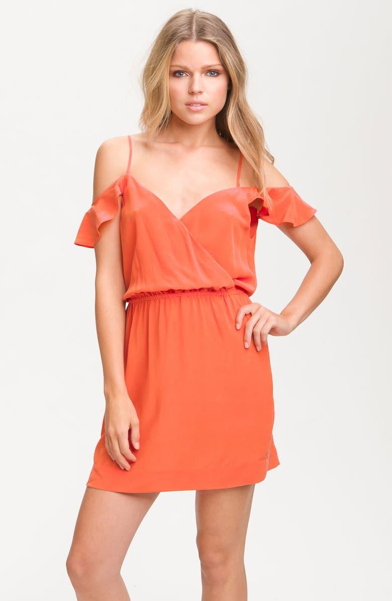 JOIE 'Sari' Drop Sleeve Silk Dress, Main, color, 823