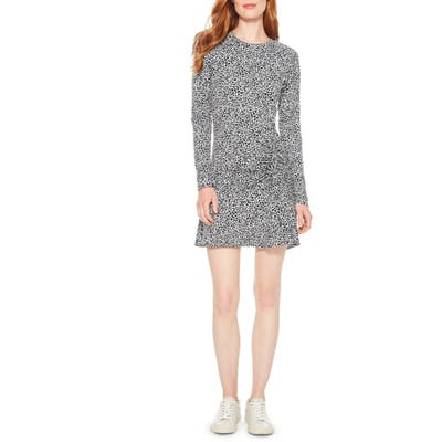 Parker Rhea Long Sleeve Minidress, Grey