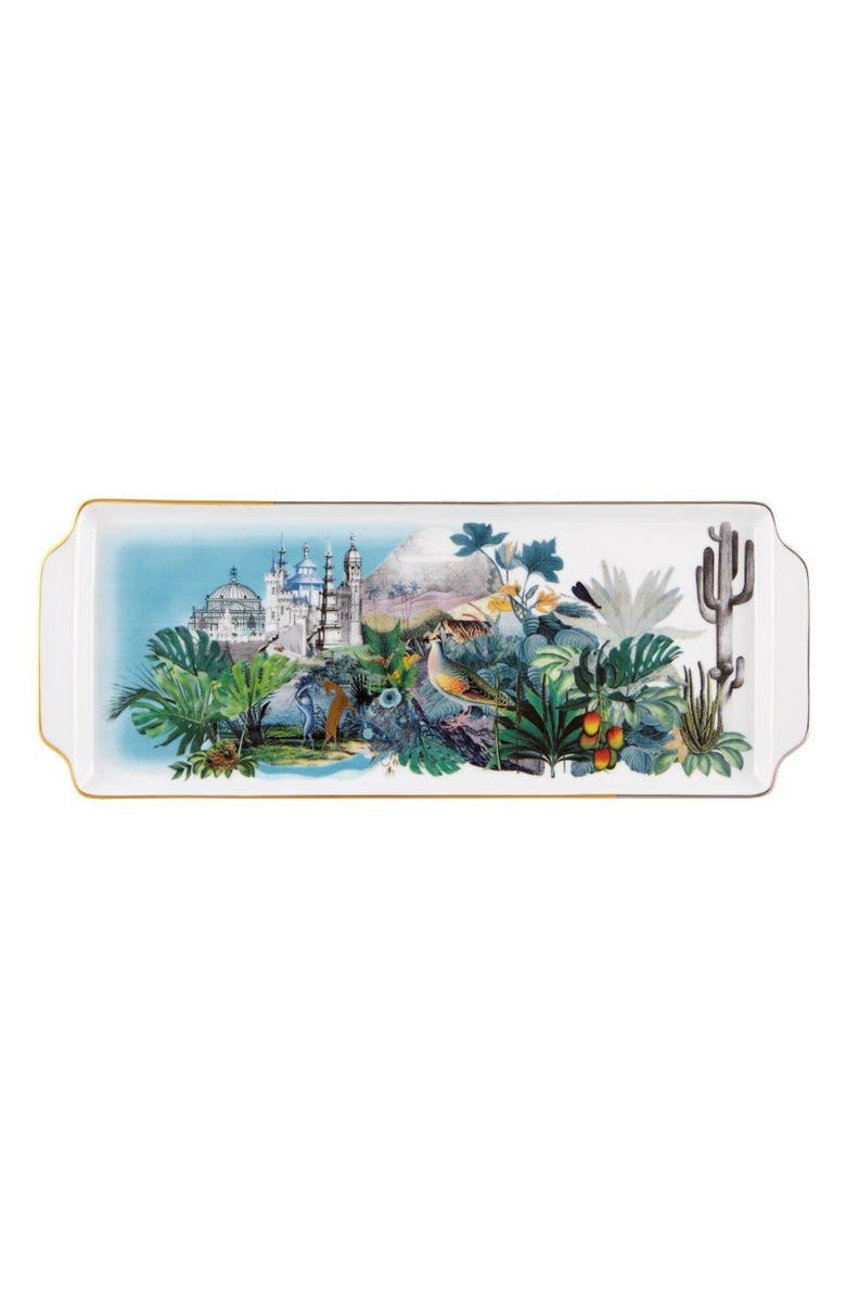CHRISTIAN LACROIX Reveries Tart Tray, Main, color, WHITE