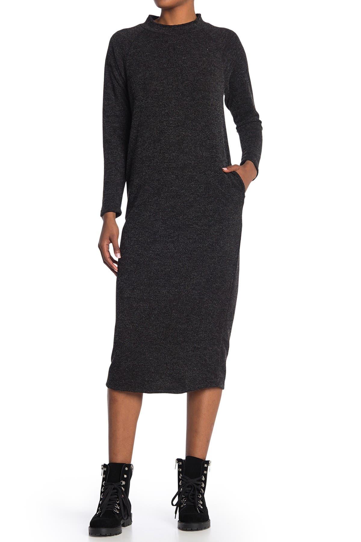 Image of Lush Long Sleeve Knit Dress