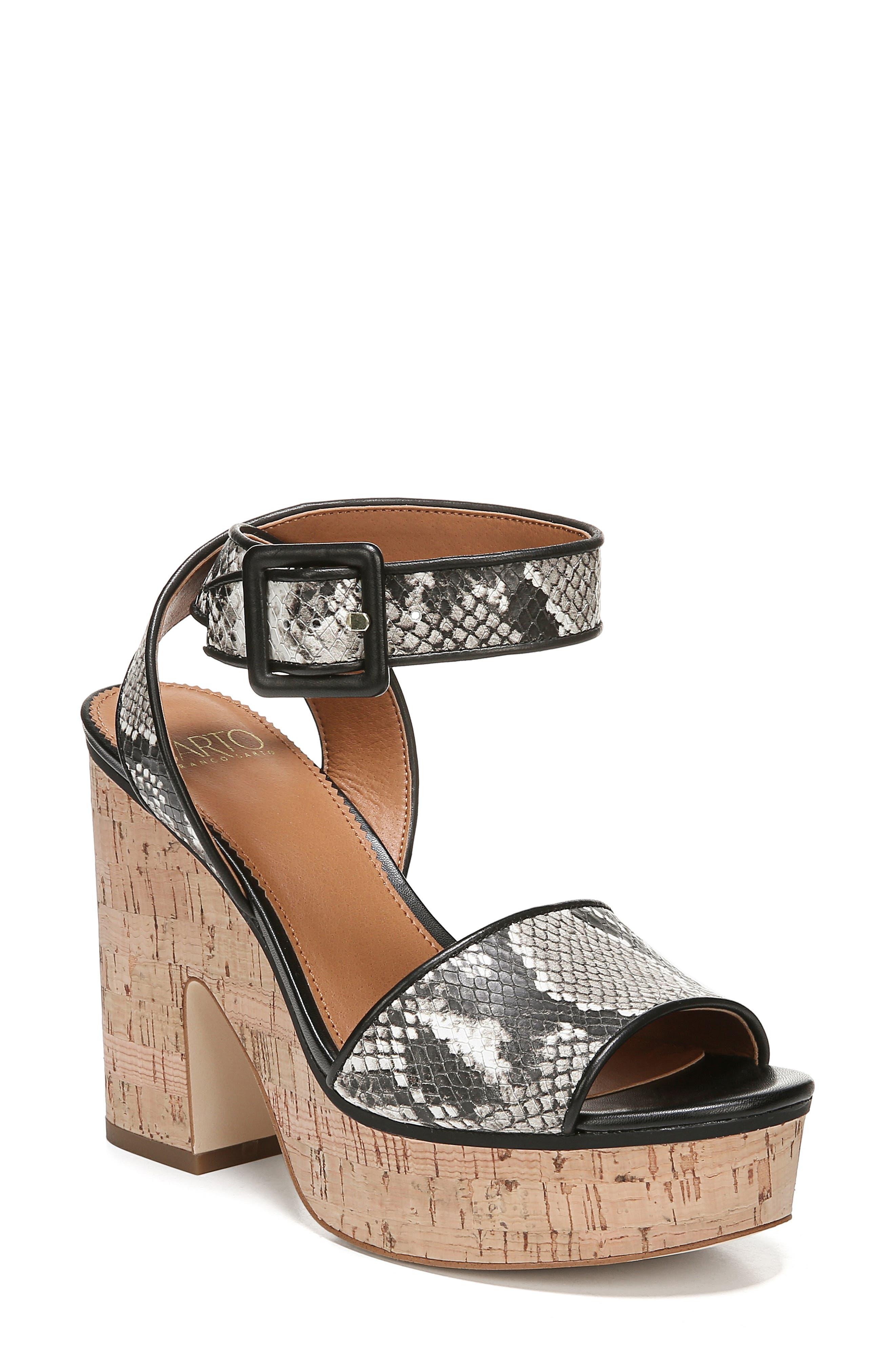 Sarto By Franco Sarto Franny Platform Sandal- Beige