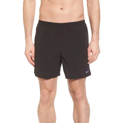 Patagonia Baggies 5-Inch Swim Trunks, Black