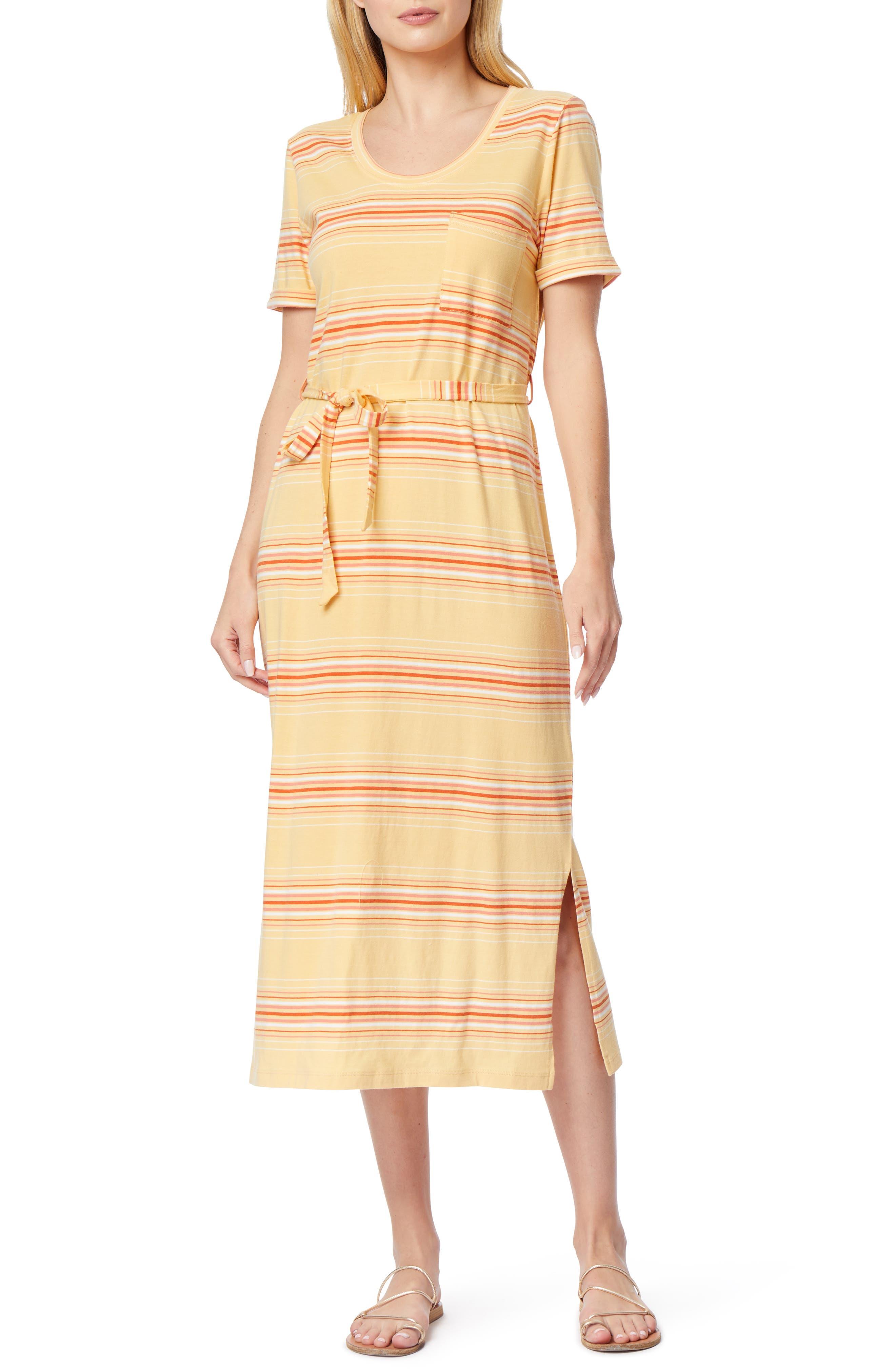 Abigail Belted Midi T-Shirt Dress