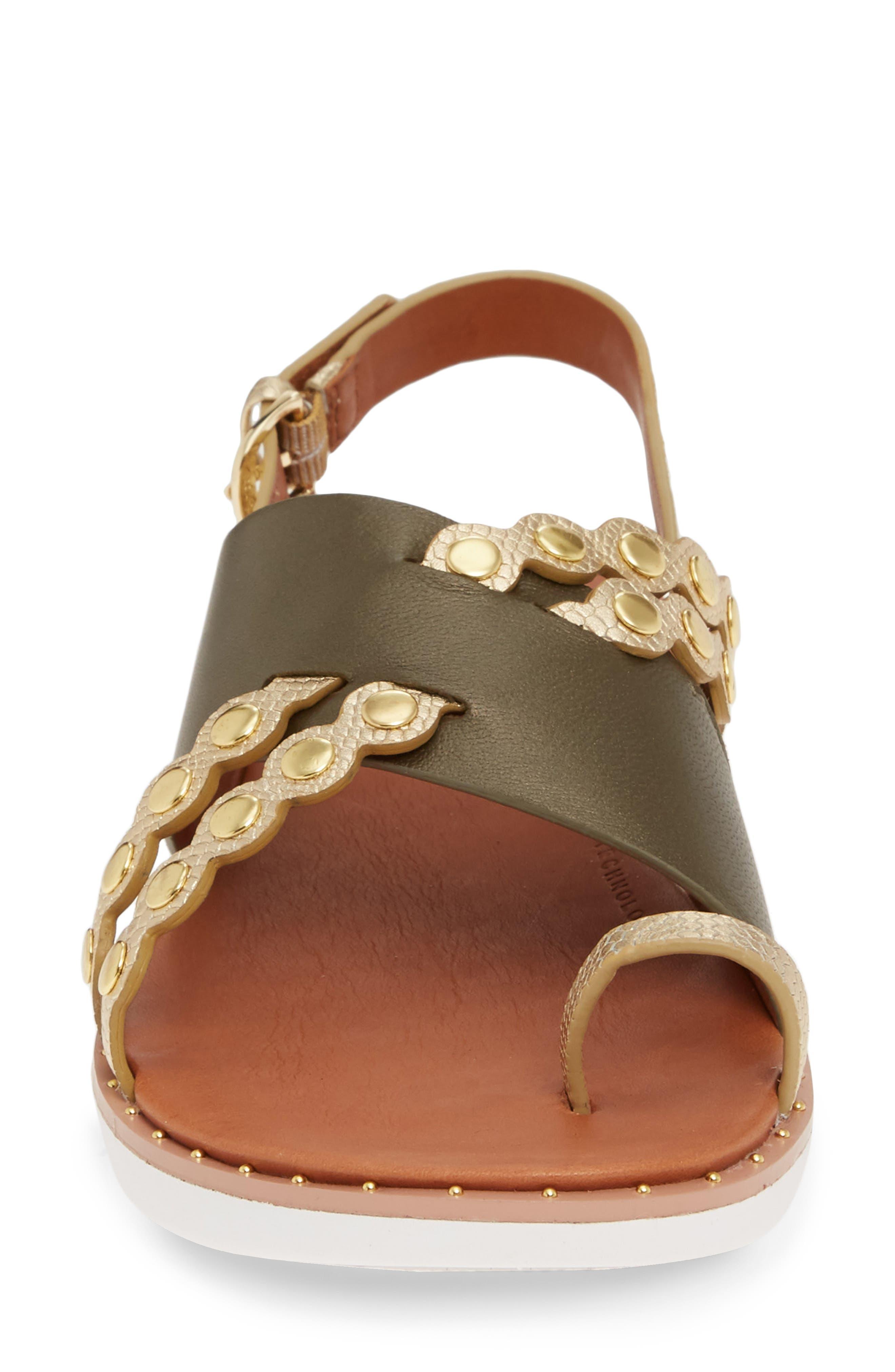 ,                             Scallop Embellished Sandal,                             Alternate thumbnail 16, color,                             353