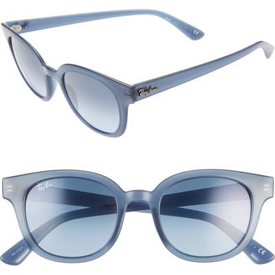 Ray-Ban 50Mm Cat Eye Sunglasses - Blue/ Azure Gradient Blue