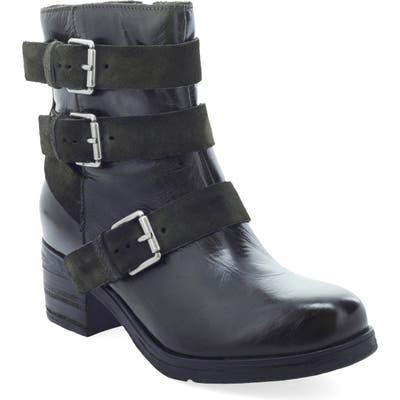 Miz Mooz Skye Buckle Boot, Green