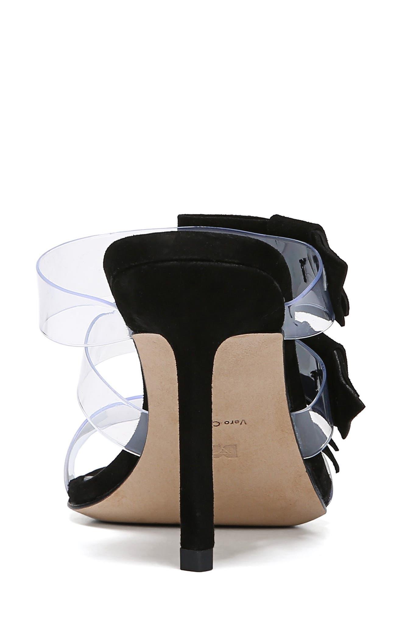 ,                             Amari Triple Strap Sandal,                             Alternate thumbnail 7, color,                             BLACK